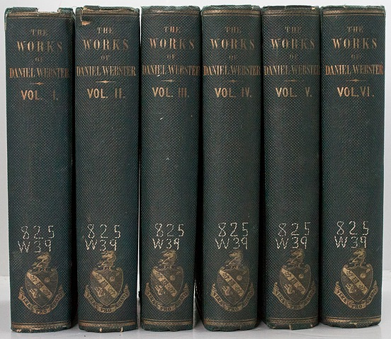 Works of Daniel Webster, Then/a - Product Image
