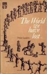World We Have Lostby: Laslett, Peter - Product Image