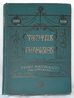 YOUTH'S COMPANION: An Illustrated Weekly Paper for Young People and the Family. Volume LXXIII. - 1899. (Volume 73, Numbers 1 - 52)Jack London, L. Frank Baum, Mary Austin, John Burroughs, Paul Laurence Dunbar, Albert Payson Terhune, Bret Harte, othe - Product Image