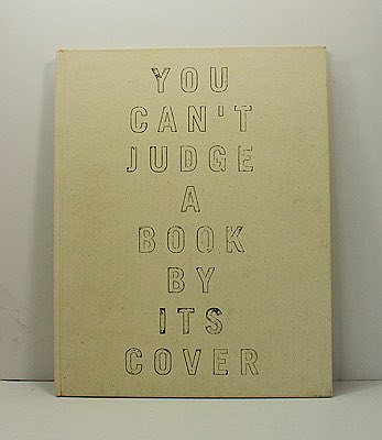 You Can't Judge a Book By It's CoverMTV - Product Image