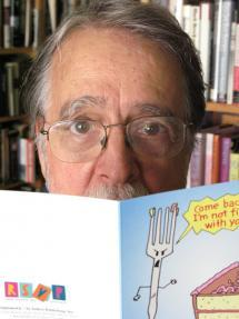 Dick Chodkowski: Organizer-in-Chief. Cartoonist/greeting card creator in spare time. (Spare time?)