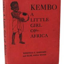 Kembo, an African girl, receives a beautiful green necklace made for her by Joan, a little American girl.