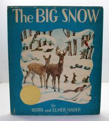 The kindness of a man and woman helps the forest animals to survive until spring. It's a warm, cozy read on a winter's day.