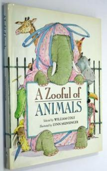 Wise and funny poems about animals who could fill a zoo.
