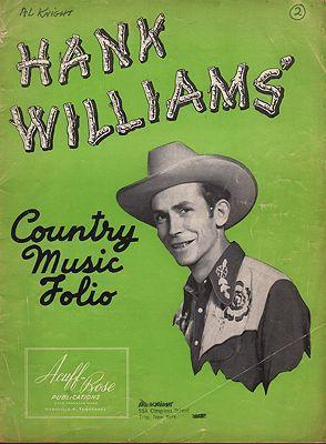Hank Williams Cowboy Songs
